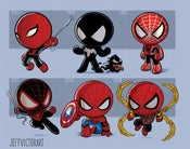 Image of Evolution of Spider-Man