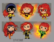 Image of Evolution of Jean Grey