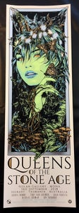 Image of Queens of the Stone Age - MONA Hobart - gig poster foil variant