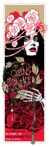Image of Queens of the Stone Age - Teniele Sadd - gig poster