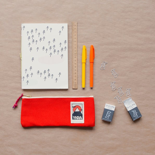 Image of YKRA Pencil case - orange