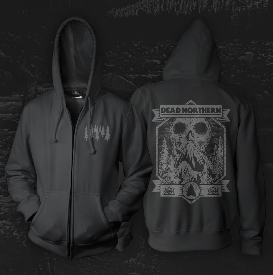 "Image of ""Howler"" Zip-Up Hoodie"