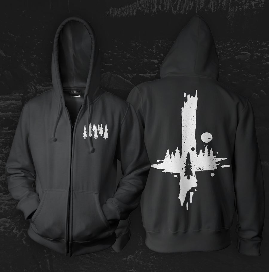 "Image of ""Gloam"" Zip-Up Hoodie"