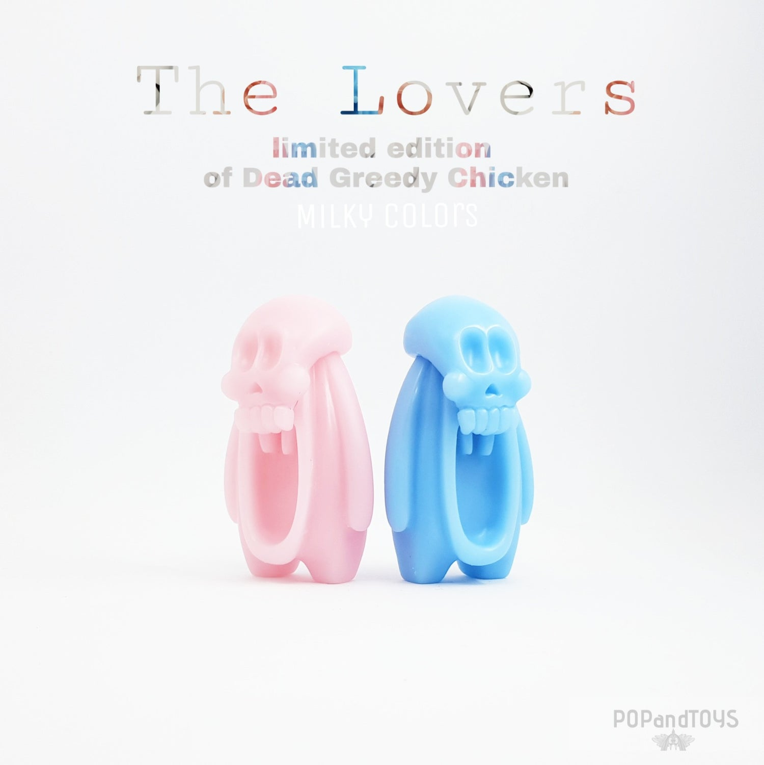 Image of THE LOVERS (Greedy Chickens Milky colors limited edition)