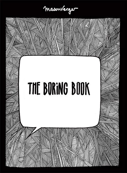 Image of THE BORING BOOK, The graphic Novel