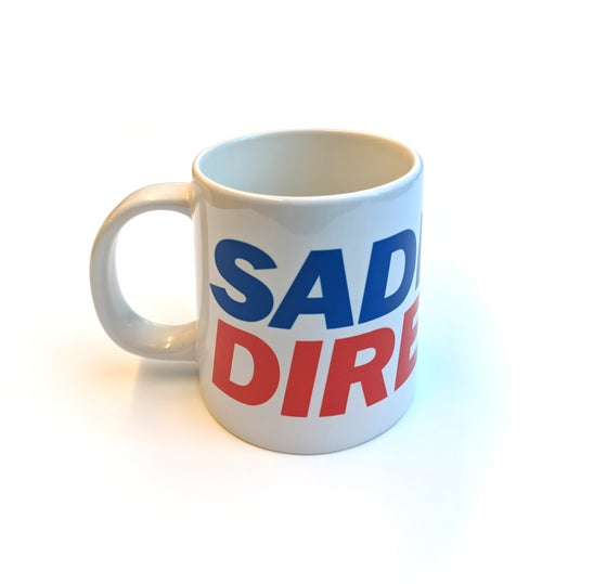 Image of Sadness Direct Giant Mug