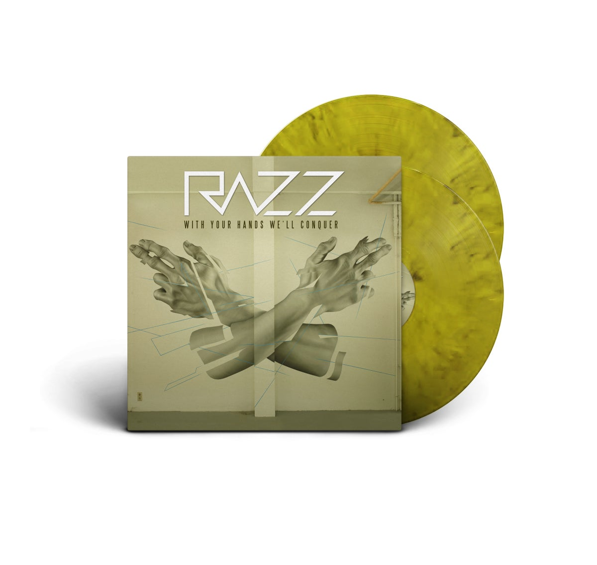 "Image of Razz ""With Your Hands We'll Conquer"" LP"
