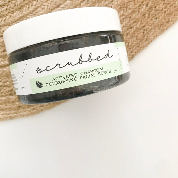 Image of Activated Charcoal Detoxifying Facial Scrub