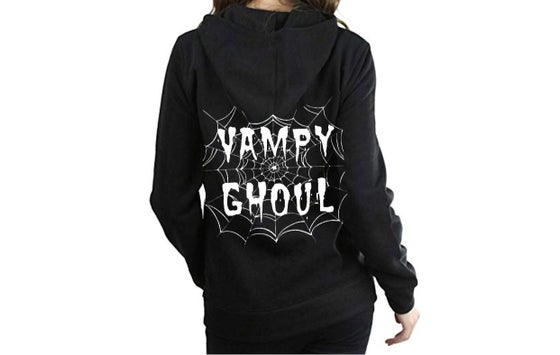 Image of Vampy Ghoul Web Unisex Pullover