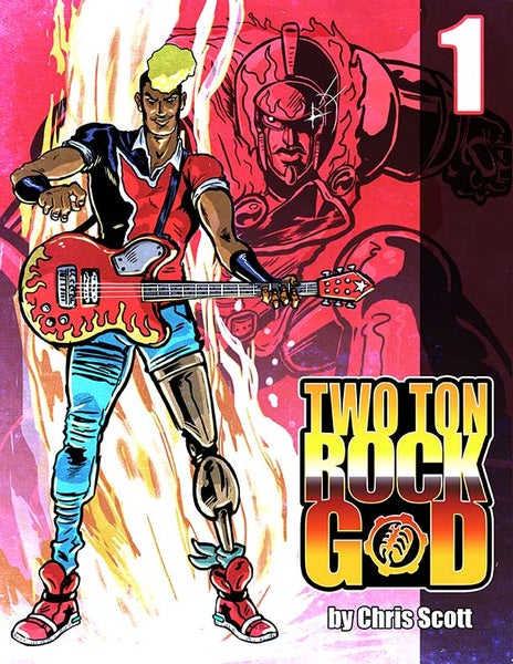Image of TWO TON ROCK GOD #1 PRINTED EDITION