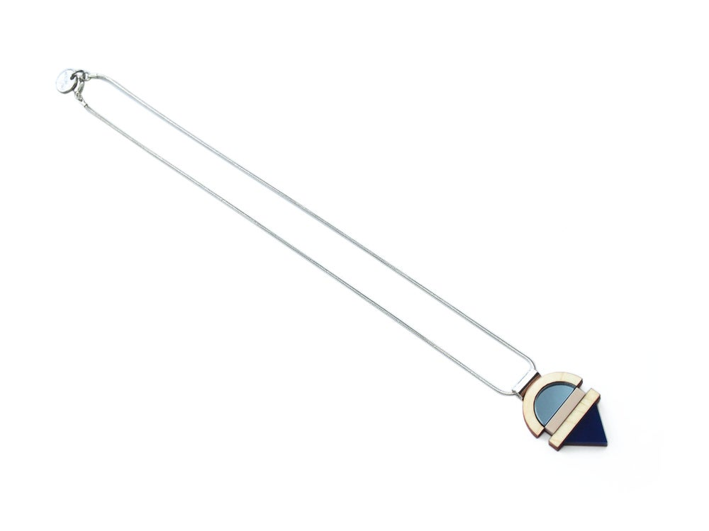 Image of EDIT NECKLACE - SAPPHIRE