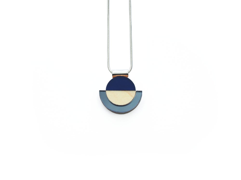 Image of Drop Necklace - Sapphire