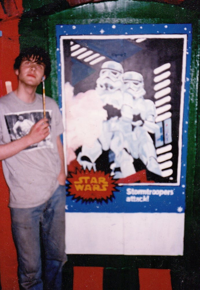 "Image of 1989 ""LEVITATOR"" T-SHIRT - as worn by BOOGA!"