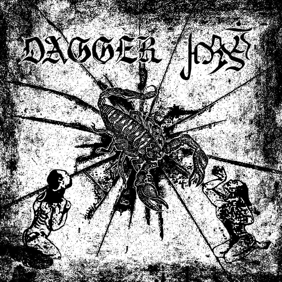 Image of Dagger & hrvst split 7in - Vinyl