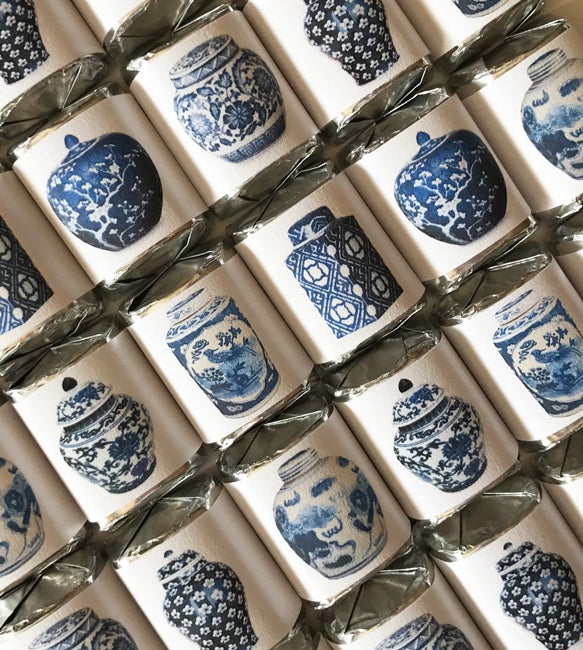 Image of Chinoiserie Ginger Jars Chocolate Nuggets