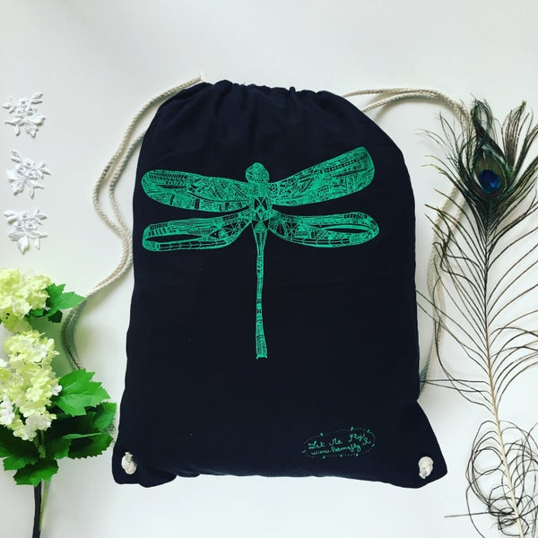 Image of Gym bag *Dragonfly*