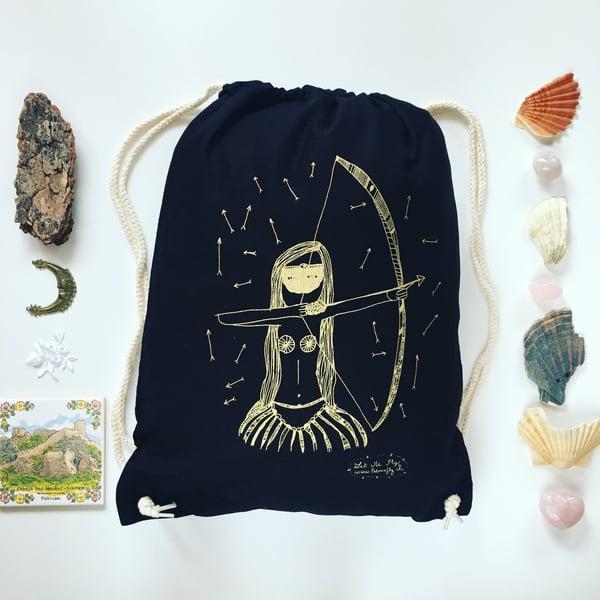 Image of Gym bag *Wild Woman*