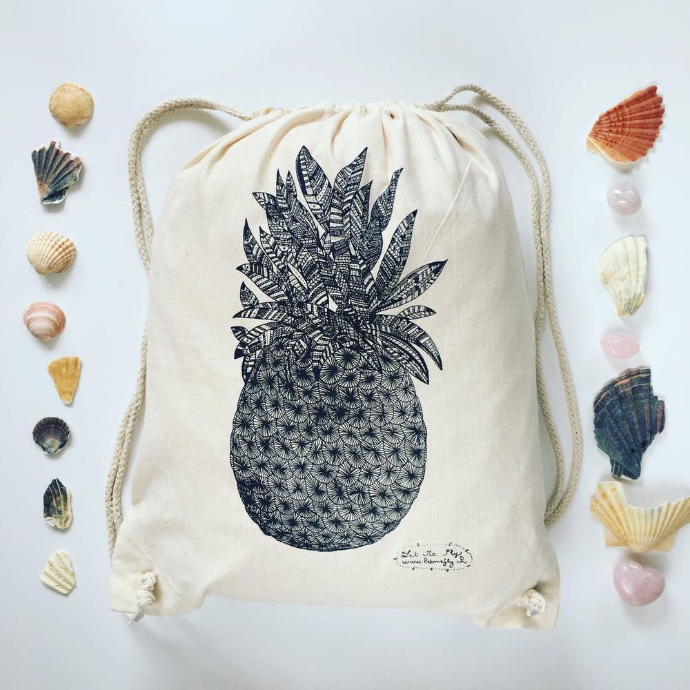 Image of Gym bag *pineapple*