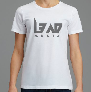 Image of L3AD Front Side Printed T-Shirt For Women