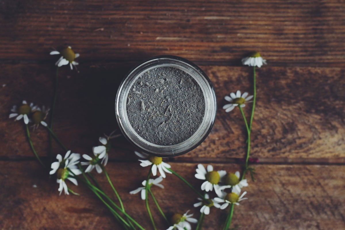 Image of  French Clay Facial Mask with lavender & chamomile