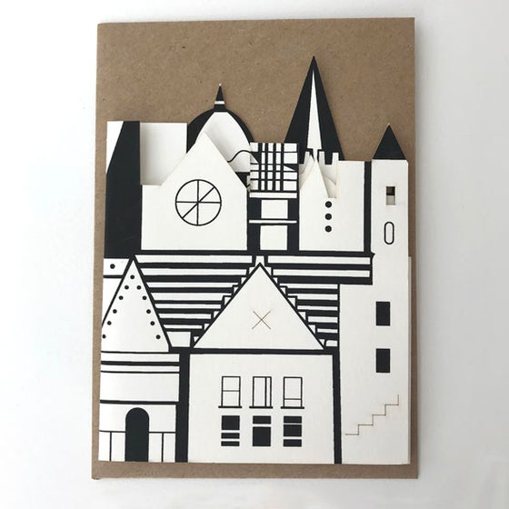 Image of Imagined City fold out card