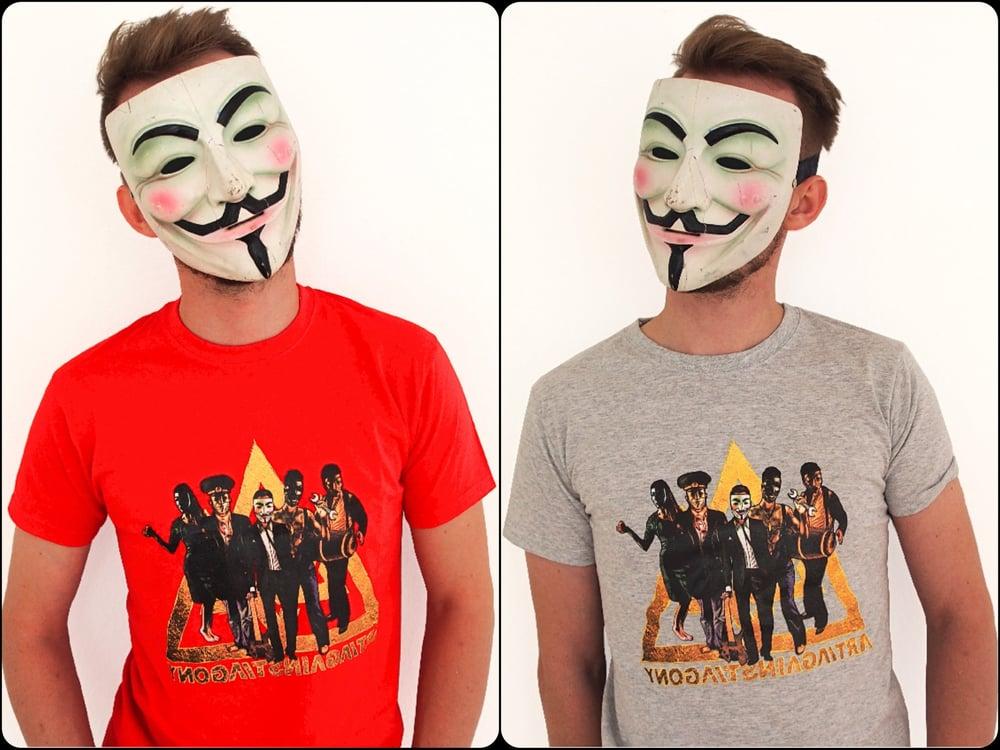 Image of Tshirt - Band Cartoon Design