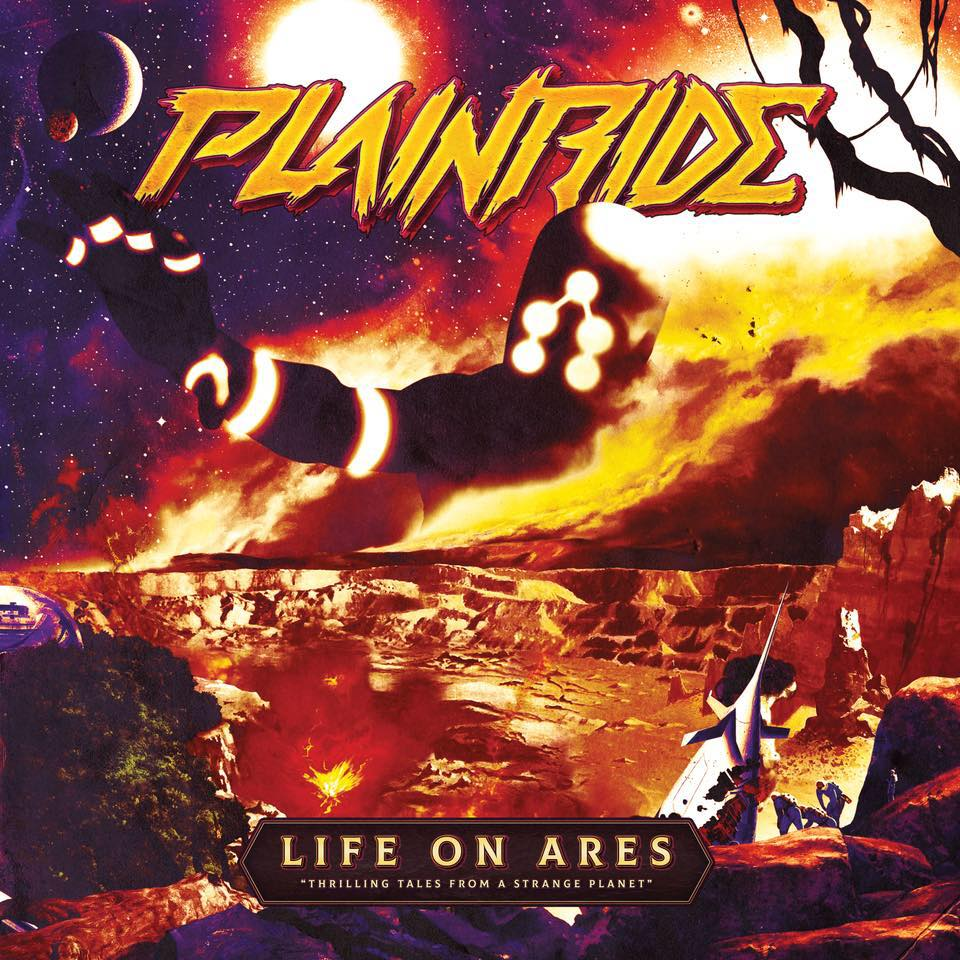 "Image of Plainride - Life on Ares ""Darkness of Space"" Black Vinyl LP"