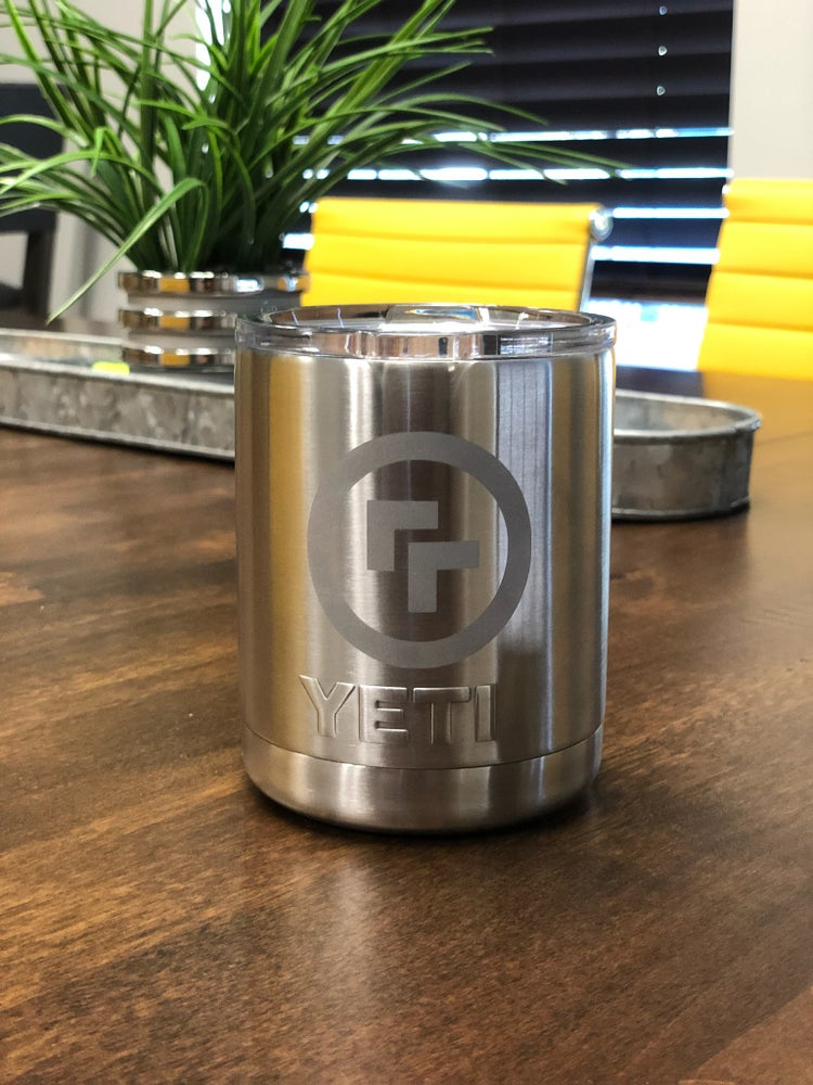Image of Logo Yeti Rambler Lowball Stainless Steel