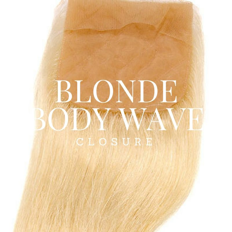 Image of RUSSIAN BLONDE BODY WAVE CLOSURE