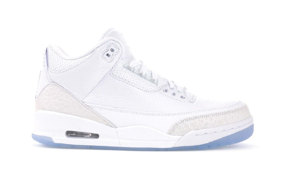 Image of Jordan 3 Retro Pure White (2018) 136064-111