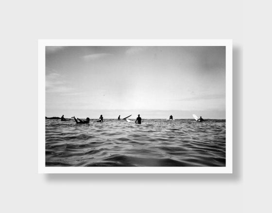 Image of Surfers Waiting
