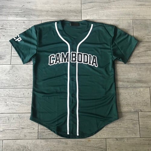 Image of REP CAMBODIA BASEBALL JERSEYS (NEW COLORS)
