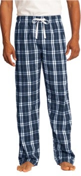 Image of HALSEY BULLDOGS FLANNEL PJs