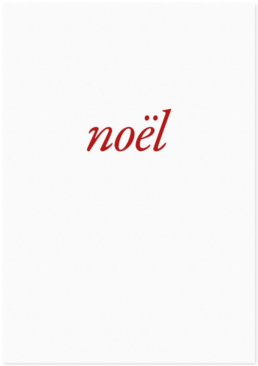 Image of noël | small red