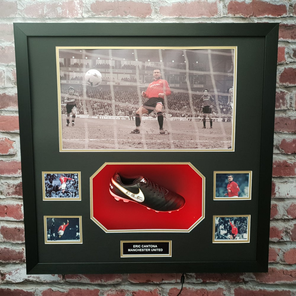 Image of Signed Eric Cantona boot