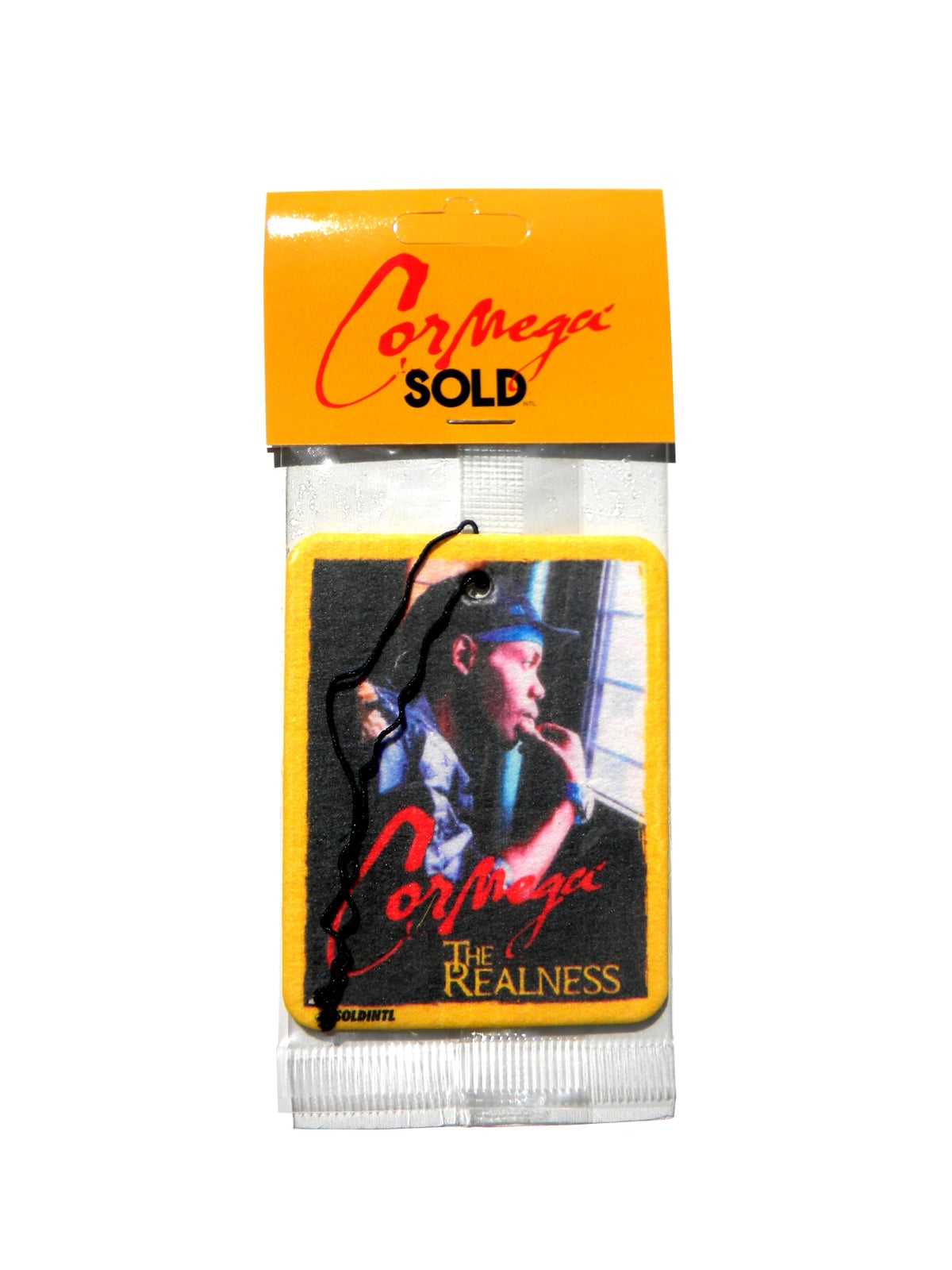 "Image of Cormega x Soldintl - ""The Realness"" Freshener"