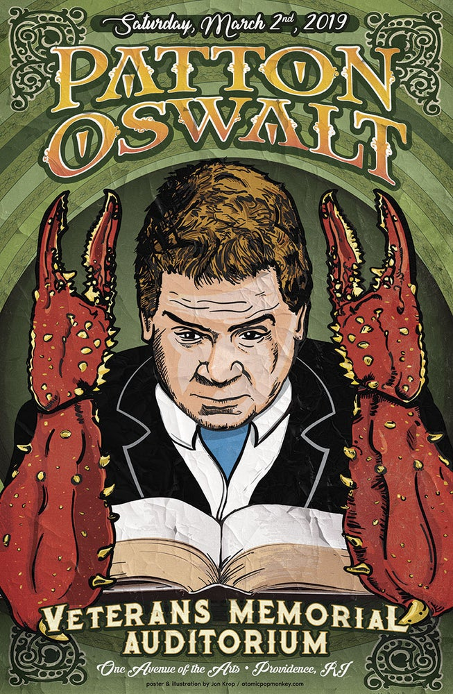 "Image of Patton Oswalt ""Lovecraft"" 11""x17"" Poster Ltd. Ed. of 100 - AVAILABLE NOW"