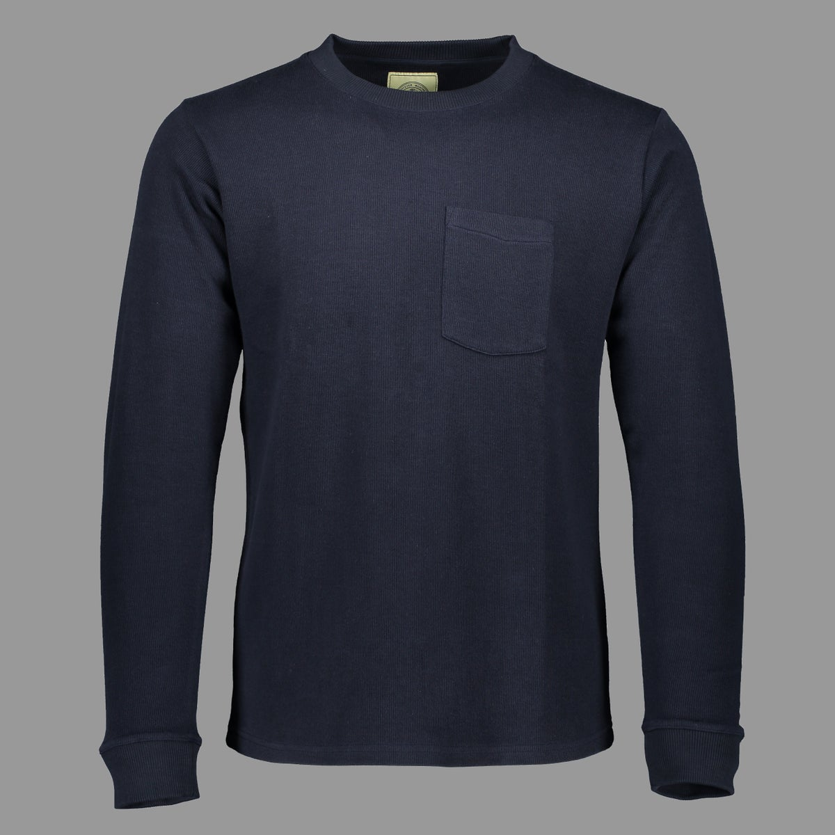 Image of THE CADET HEAVY WEIGHT POCKET SHIRT NAVY