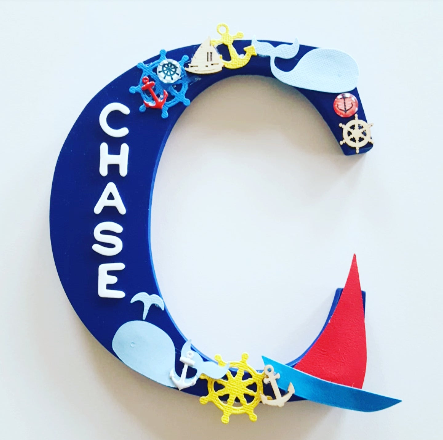 Image of Boys NAUTICAL Personalised Letters