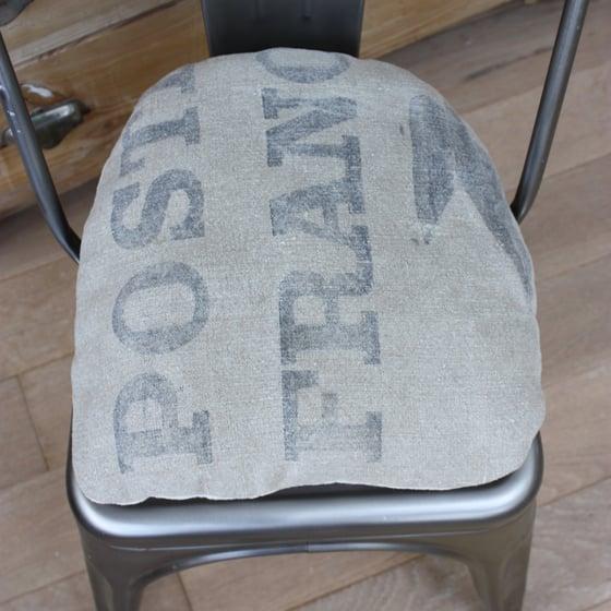 Image of Coussin chaise TOLIX en toile postale.