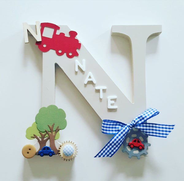 Image of Boys VINTAGE Personalised Letters