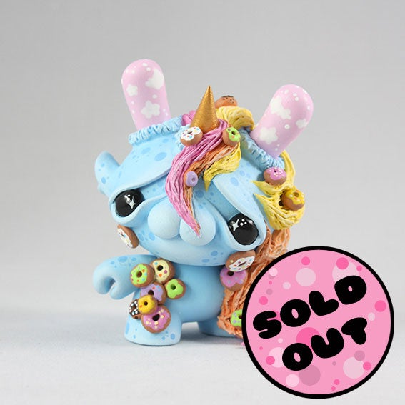 "Image of Jeffree - 3"" Custom Kidrobot Dunny"