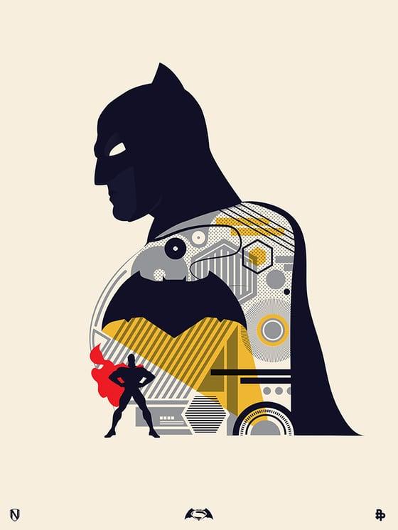 Image of Batman Day Print