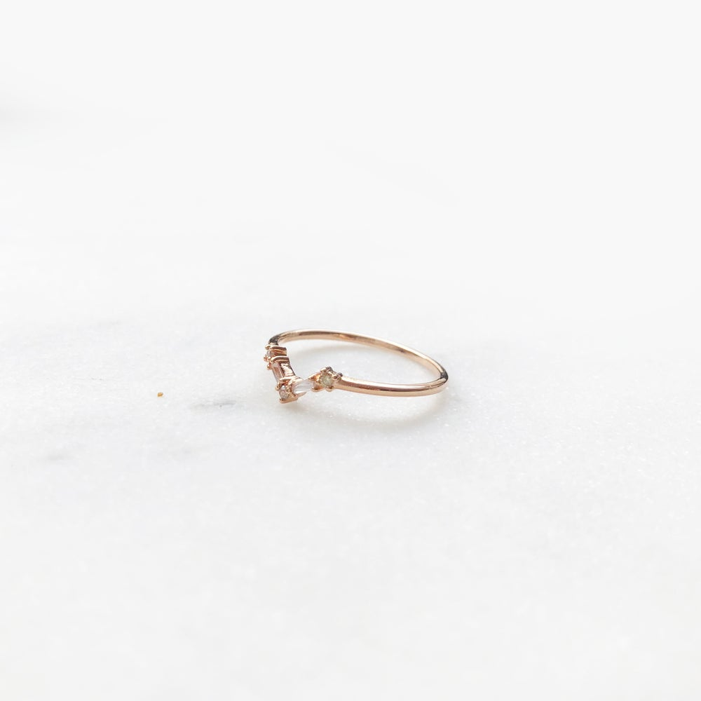 Image of Mini Deco Baguette Ring