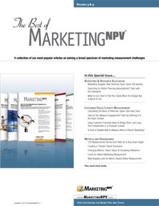 Image of The Best of MarketingNPV Journal - Volumes 3 & 4