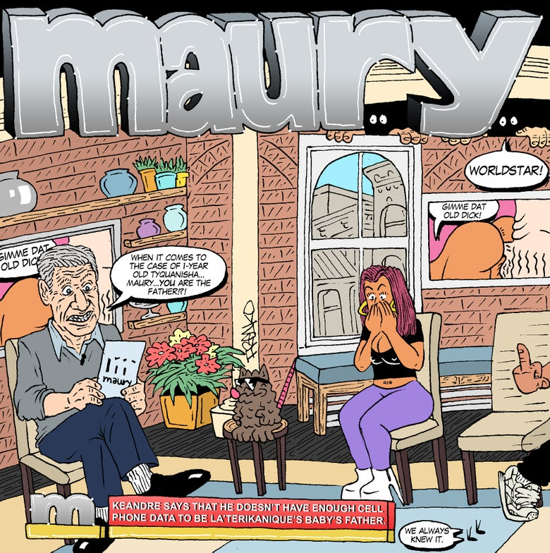 "Image of ""MAURY'S THE FATHER"" PRINT"