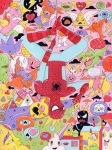 """Image of Spidey Senses (Original Artwork 16""""X12"""")"""