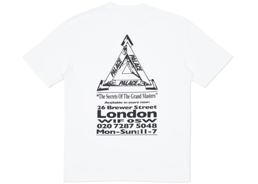 cec1b0b8ba9f Image of Palace Grand Master tee white