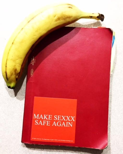 Image of MAKE SEXXX SAFE AGAIN STICKER