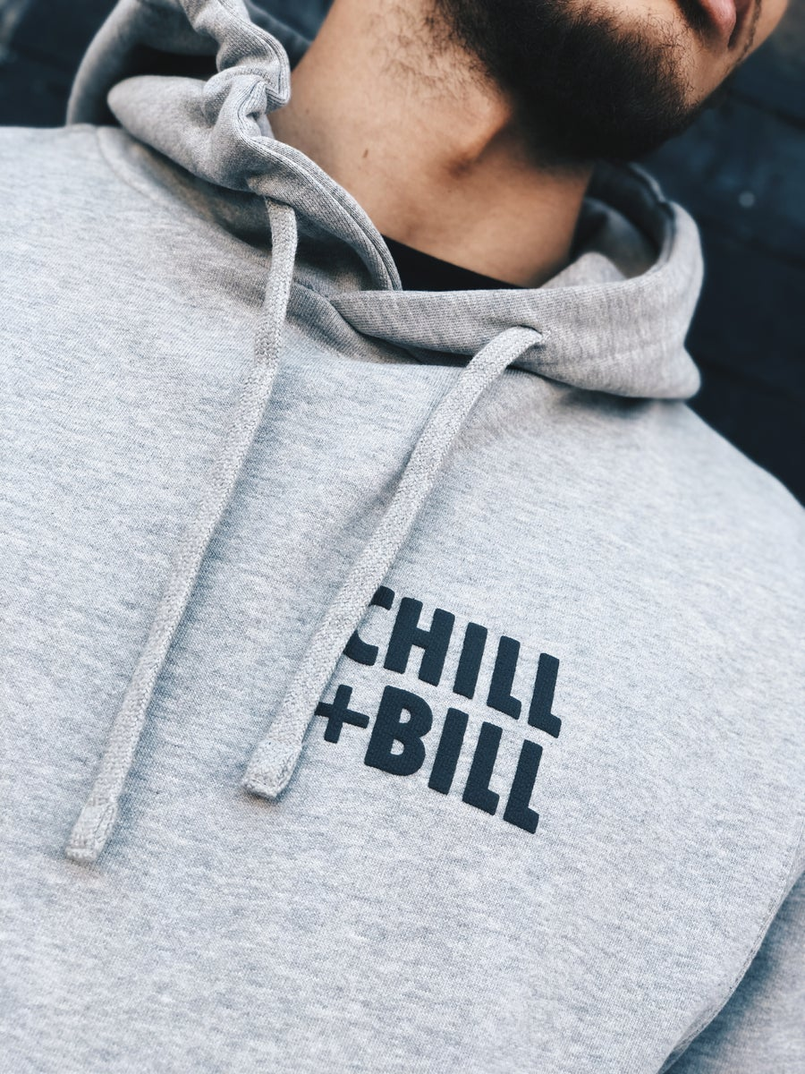 Image of Chill+Bill SQ Hoodie in Tracksuit Grey